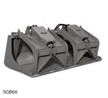 Scrap Grapple Bucket (Skidsteer)